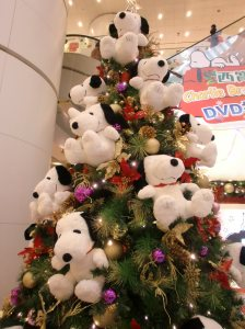 We wonder if these Snoo-snoo dogs can go home with someone after the tree is taken down?